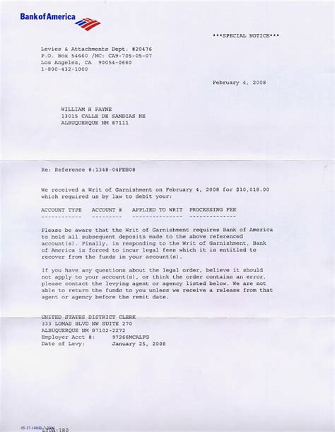 Letterhead Bank Account Bank Of America Letter Images Frompo