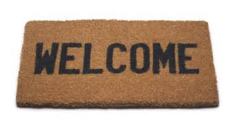 Doormat That Says Leave Welcome Daily Kos Readers Hbd