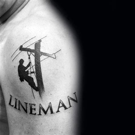 lineman tattoo designs lineman ideas studio design gallery best design