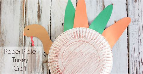 Paper Plate Turkey Craft For - paper plate turkey craft for preschoolers midwestern