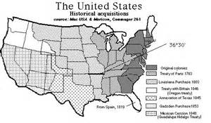 us territorial expansion map blank manifest destiny map outline