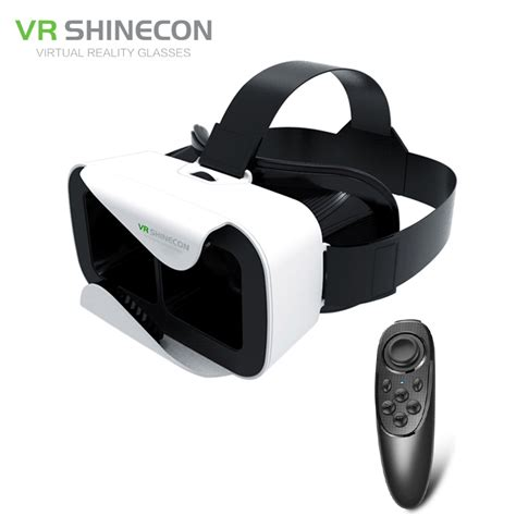 Shinecon 3d Vr Glass G 03 3 vr shinecon 3 0 glass reality 3d glasses box helmet 360 headset for 4 5 6