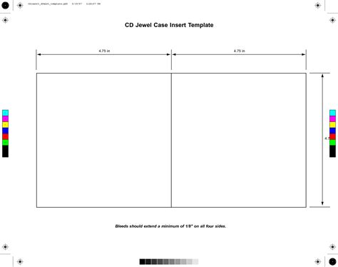 template for cd sleeve cd cover template cyberuse
