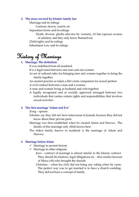 Divorce Letter In Islam Sle Fiqh Of Marriage In Islam