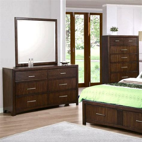 java bedroom set edison 5 piece bedroom set storage bed java oak queen