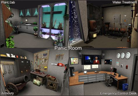 apocalypse room mod the sims the pre apocalypse house