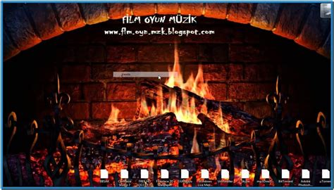 the gallery for gt animated fireplace screensaver free