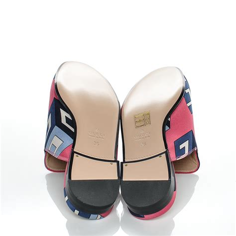 slippers wallpaper gucci satin gg wallpaper princetown slippers 36 pink