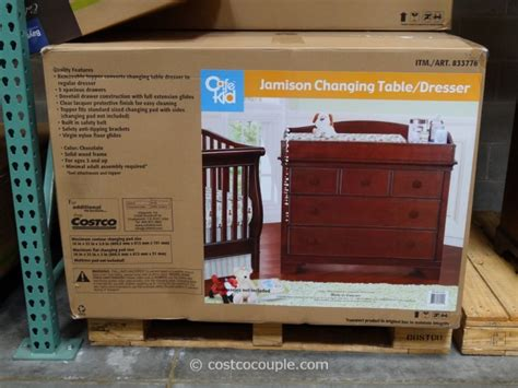 cafe kid desk costco cafe kid jamison changing table dresser