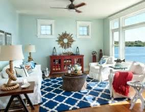 Coastal Home Decor Stores A Casual Living Room With Lots Of Nautical Decorations To Shop The Look Completely Coastal