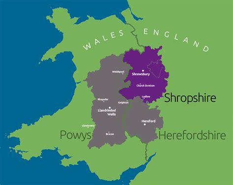 tour map tours map shropshire tricounty tours