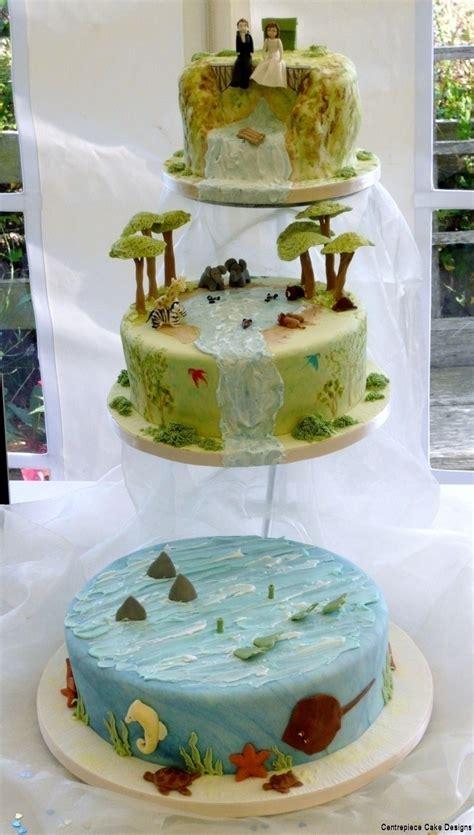 funky theme wedding cakes madeon  isle  wight