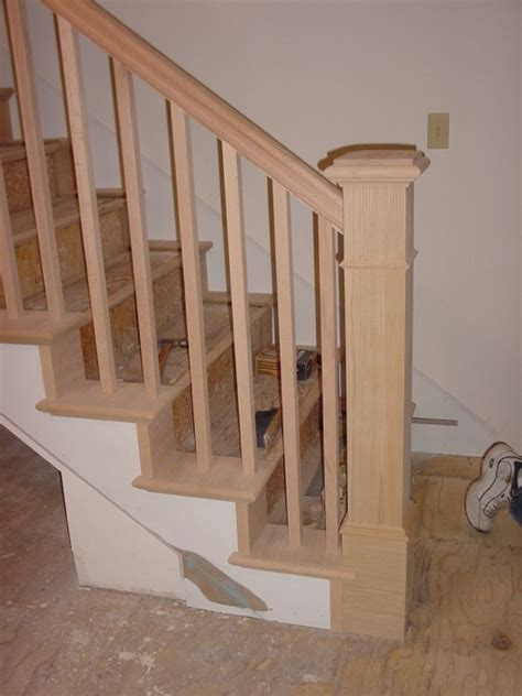 banister styles arts and crafts metal handrail