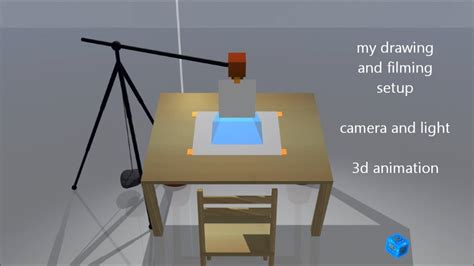 youtube film setup how to film a speed drawing camera and light setup 3d