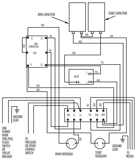 electric motor wiring diagram 220 to 110 wiring diagrams