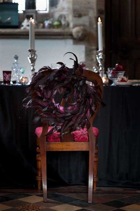 ideas  throw  halloween wedding  style