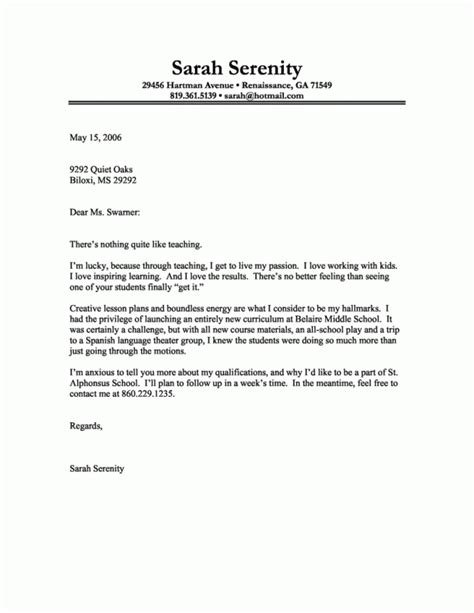 Free Cover Letter Samples For Resumes   Samples Of Resumes