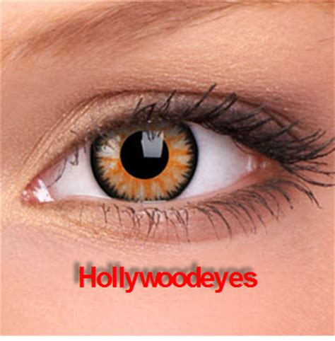 light up contact lenses hollywoodeyescolorcontacts glamour honey color contact