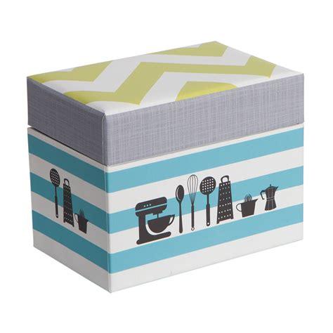 kitchen gear recipe box kitchen gear crg q214120 country kitchen