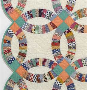 Wedding Rings Quilt by Vintage Quilt Collection Susan Dague Quilts