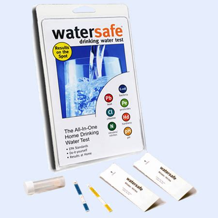 test kit watersafe 174 home water test kit