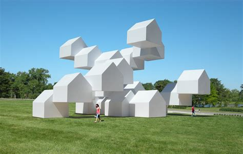 home sculptures the modular house pavilion a installation