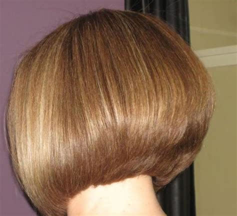 bob wedge hairstyles back view stacked wedge haircut photos back view 35 short stacked