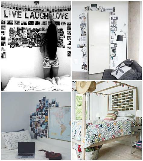 imagenes habitaciones originales decorar con fotos las habitaciones juveniles ideas