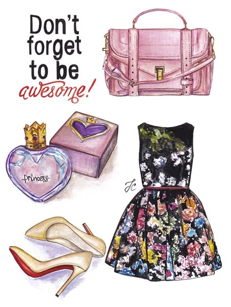Cool For Schouler by Awesome Fashion Illustration Is Featuring Cool Girly