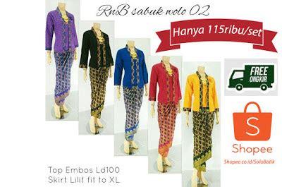 Rok N Blus Batik Tenun Set 3 jual kebaya rok blouse model modern terbaru sabuk wolo