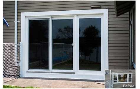 3 Panel Sliding Glass Door by Sliding Patio Door Company Ct