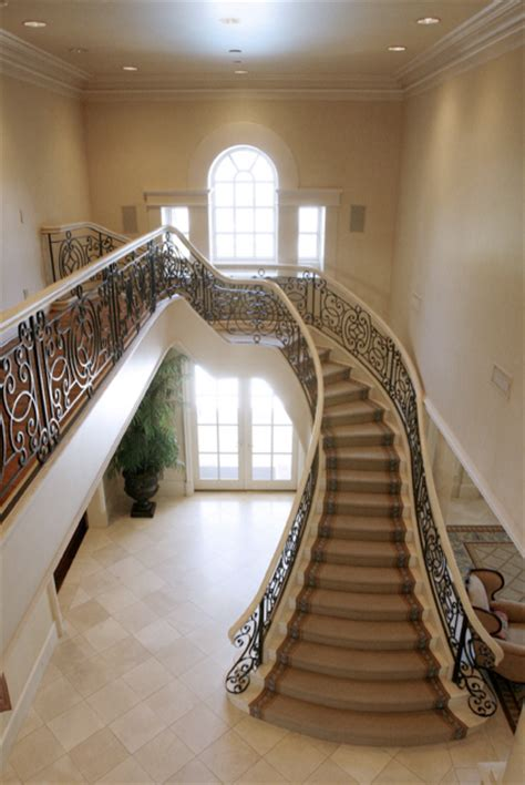 Stairs Beautiful Beautiful Curved Staircases In Florida Luxury Stairs Gallery