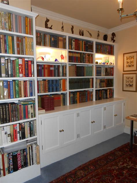 Handmade Bookshelf - bespoke cabinetry hawker joinery