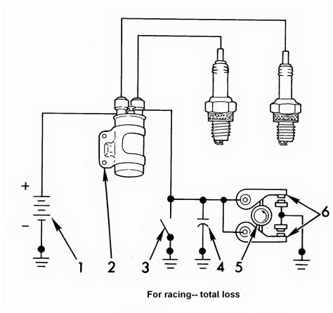 ignition coil distributor wiring diagram wiring diagram