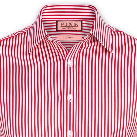 Stripe Shirt pink and white striped shirt mens custom shirt