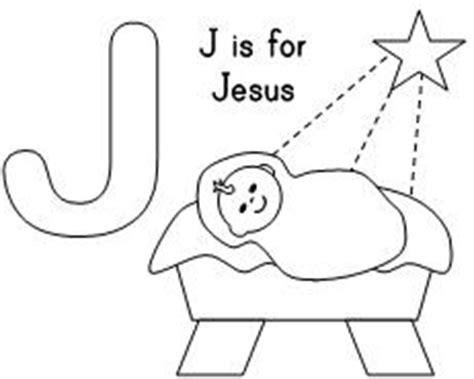 J For Jesus Coloring Page by Eggs In The Nest Rhyme Purchase