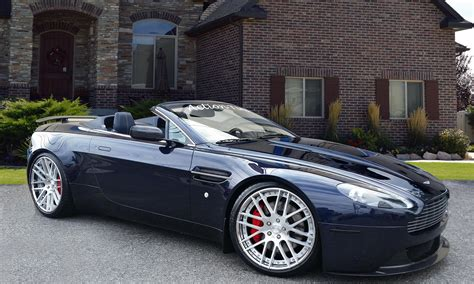 custom aston martin vantage lexani wheels the leader in custom luxury wheels 2015