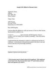 affidavit letter format best template collection