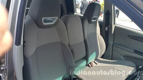 in front seat mahindra kuv100 front seat indian autos