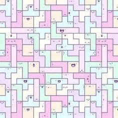 doodle tetris kawaii sts kawaii