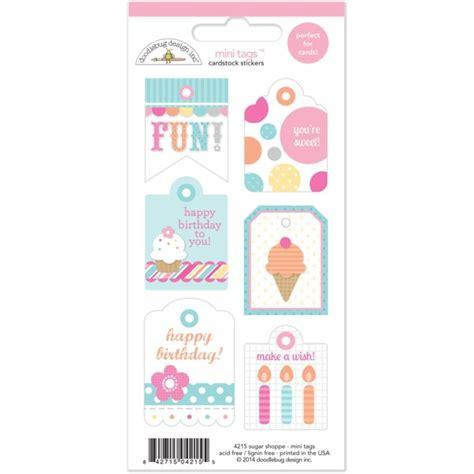 doodlebug stickers doodlebug design sugar shoppe collection cardstock