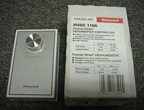 honeywell dehumidistat hc