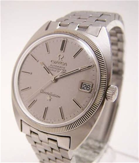 Omega Constellation Collectors: The Constellation C Shape Watch: Omega's Child of the Sixties