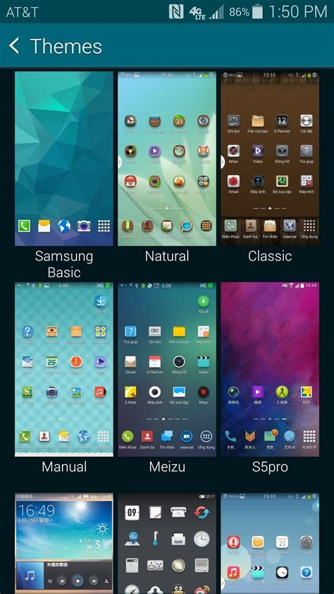 samsung themes all how to theme touchwiz on your samsung galaxy s5 171 samsung