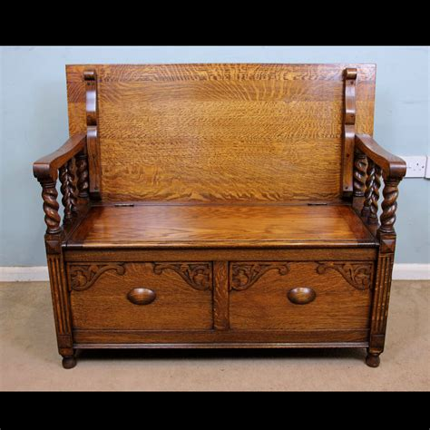 monks bench antique victorian georgian edwardian furniture the