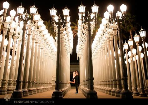 Lacma Lights by A Photo Shoot At The Lacma Lights Or Check Out