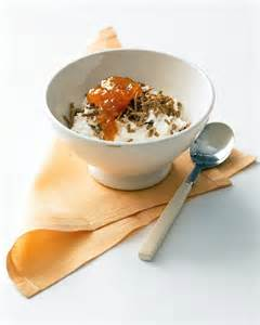 cottage cheese with apricot jam and bran cereal recipe
