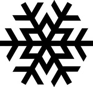 Simple snowflake clipart clipart panda free clipart images