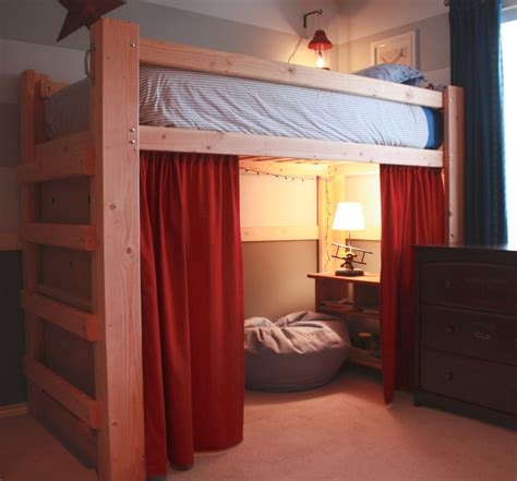 kids loft bedroom ideas awesome children loft bed plans perfect ideas 2261