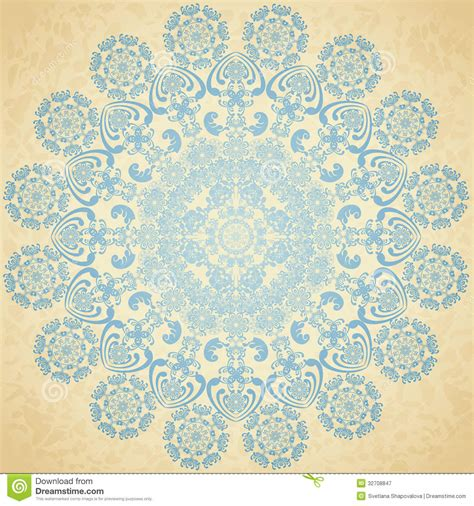 old paper pattern vector pattern blue old paper stock vector image of decor